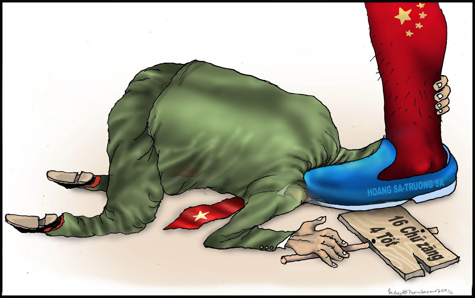 Bildergebnis für tranh biếm họa về đảng cộng sản